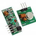 Радио приемник XD-RF-5V 433Mhz и радио передатчик FS1000A/XD-FST 433Mhz
