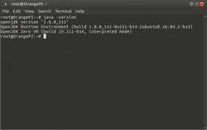 Как установить Java в Ubuntu с помощью Apt-Get на Banana Pi, Orange PI и Raspberry Pi