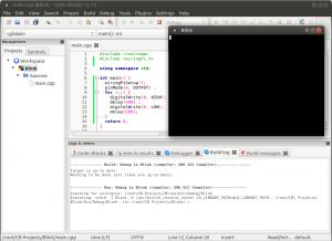 Установка и настройка Code::blocks на Banana Pi, Orange PI и Raspberry Pi под Ubuntu (13)