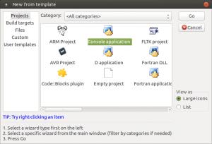 Установка и настройка Code::blocks на Banana Pi, Orange PI и Raspberry Pi под Ubuntu (3)