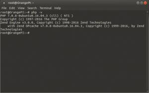 Установка и настройка LAMP на Raspberry Pi, Banana Pi и Orange Pi под Ubuntu 16.04 (10)