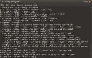 Установка и настройка LAMP на Raspberry Pi, Banana Pi и Orange Pi под Ubuntu 16.04 (2)