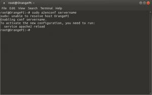 Установка и настройка LAMP на Raspberry Pi, Banana Pi и Orange Pi под Ubuntu 16.04 (7)