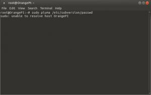 Установка и настройка Subversion (SVN) на Raspberry Pi, Banana Pi и Orange Pi под Ubuntu 16.04 (3)