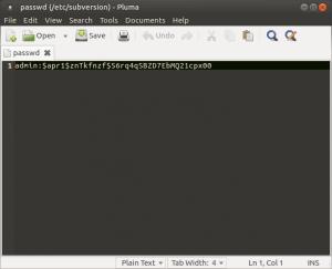 Установка и настройка Subversion (SVN) на Raspberry Pi, Banana Pi и Orange Pi под Ubuntu 16.04 (4)