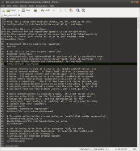 Установка и настройка Subversion (SVN) на Raspberry Pi, Banana Pi и Orange Pi под Ubuntu 16.04 (6)