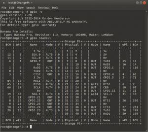 Установка WiringPi на Orange Pi PC (1)