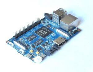 Banana PI M1 Plus/BPI-M1 Plus — одноплатный двухъядерный мини компьютер