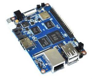Banana PI M2 Ultra/BPI-M2 Ultra - четырёх-ядерный мини компьютер