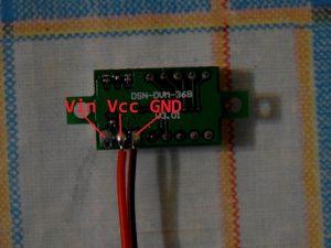 DSN-DVM-368 v3.01 - Цифровой вольтметр. Схема подключения