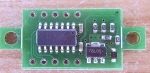 DSN-DVM-368 v3.01 - Цифровой вольтметр. 78L05