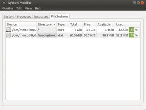 Ubuntu MATE 16.04 LTS Xenial Xerus 32 bit Файловые системы