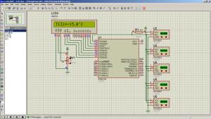 Подключение нескольких DS18B20 к ATmega8 на одну шину (1xN Animating 2)