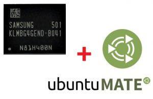 Ubuntu Mate на eMMC