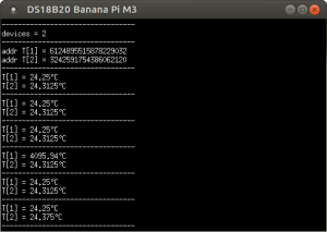 Подключение датчика температуры DS18B20 к Orange Pi, Banana Pi, Raspberry Pi