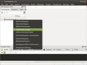 Установка и настройка CodeLite на Banana Pi, Orange PI и Raspberry Pi под Ubuntu (11)