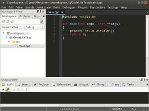 Установка и настройка CodeLite на Banana Pi, Orange PI и Raspberry Pi под Ubuntu (16)