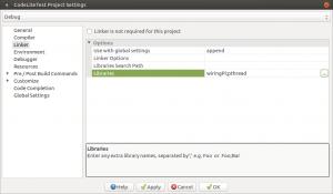 Установка и настройка CodeLite на Banana Pi, Orange PI и Raspberry Pi под Ubuntu (20)