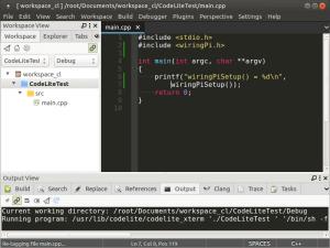 Установка и настройка CodeLite на Banana Pi, Orange PI и Raspberry Pi под Ubuntu (21)