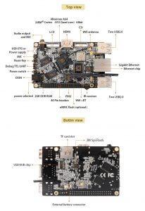 Orange Pi Win Plus - A64 Quad-core ARM Cortex-A53 info