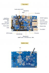 Orange Pi Prime - H5 Quad-core ARM Cortex-A53 info