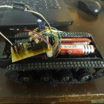 Машинка на радиоуправлении на базе ATtiny2313