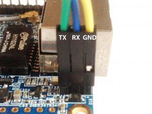 Подключение по TTL к Orange Pi Zero (UART отладка)