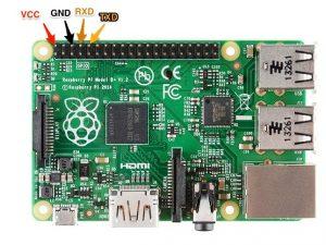 Подключение по TTL к Raspberry Pi Model B+