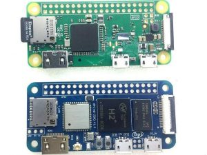 Banana PI M2 Zero vs Raspberry Pi Zero W (Wireless)
