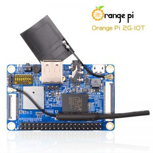 Orange Pi 2G-IOT ARM Cortex-A5 32bit - вид сверху
