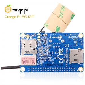 Orange Pi 2G-IOT ARM Cortex-A5 32bit - вид снизу