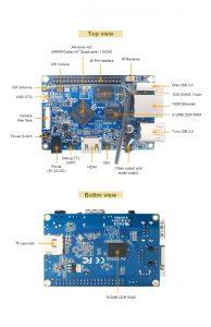 Orange Pi PC Plus - улучшеный Orange PI PC с EMMC Flash на 8 Гб и Wi-Fi