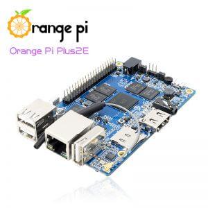 Orange Pi Plus 2E - мини компьютер с 16 ГБ eMMC и без SATA