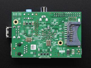 Raspberry Pi 1 Model B - вид снизу