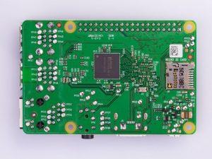 Raspberry Pi 2 Model B v1.2 - вид снизу