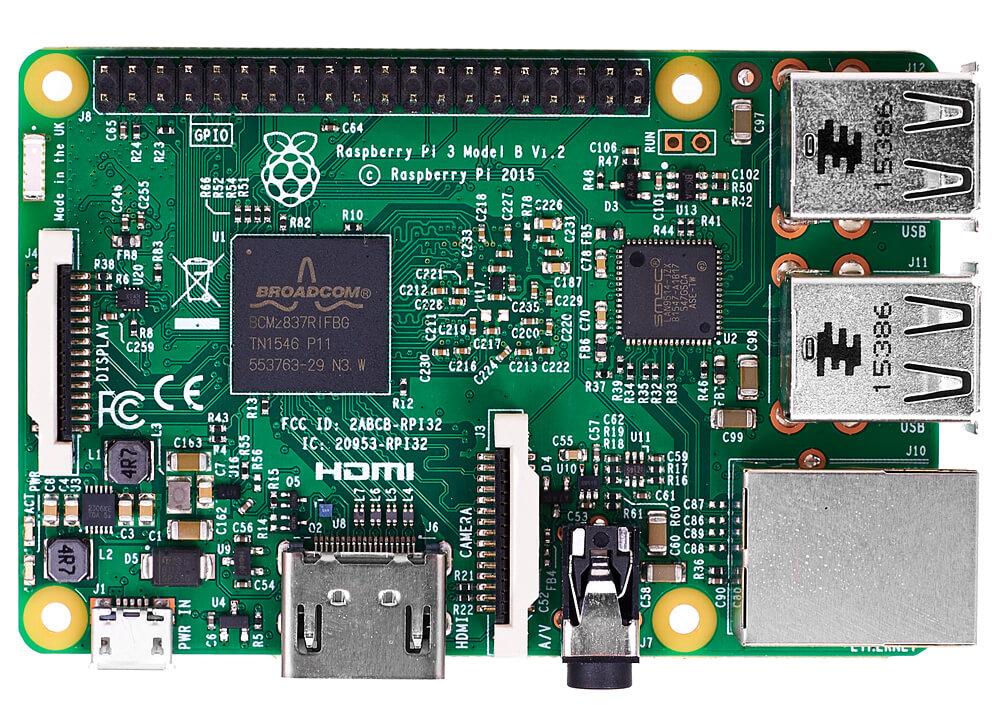 Raspberry Pi 3 Model B - 64-х битный 4-ядерный мини ПК ...