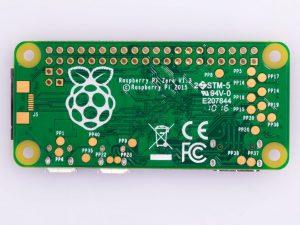 Raspberry Pi Zero V 1.3 - вид снизу