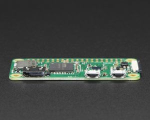 Raspberry Pi Zero W - mini HDMI, microUSB