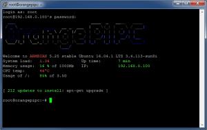 Подключение по SSH с помощью PuTTY - Armbian Orange Pi PC