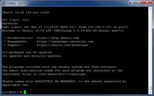 Подключение по UART с помощью PuTTY (TTL последовательный порт) - Banana Pi M3 (Ubuntu 16.04)