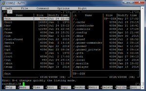 Подключение по UART с помощью PuTTY (TTL последовательный порт) - mc