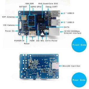 Banana Pi M2 Berry (BPI-M2 Berry) - аналог Raspberry Pi 3 model B от Banana PI - оборудование