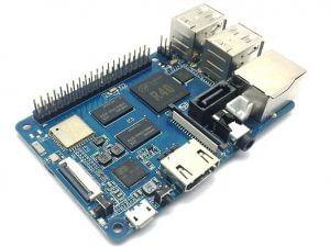 Banana Pi M2 Berry (BPI-M2 Berry) - аналог Raspberry Pi 3 model B от Banana PI