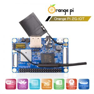 Orange Pi 2G-IOT ARM Cortex-A5 32bit (RDA8810PL)