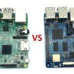 Сравнение характеристик Raspberry Pi 3 model B и Banana Pi M2 Berry