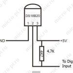 Считывание температуры с помощью датчика DS18B20 и Orange Pi PC (ARMBIAN 5.35)