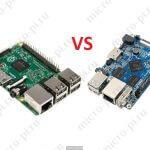 Сравнение характеристик Raspberry Pi 3 model B и Orange Pi PC/PC Plus