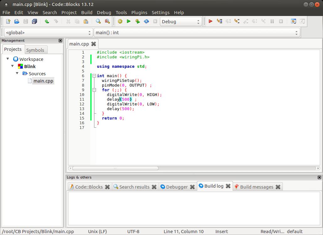 codeblocks for ubuntu