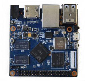 Banana PI M2 Plus/BPI-M2 Plus - одноплатный четырёх-ядерный мини компьютер