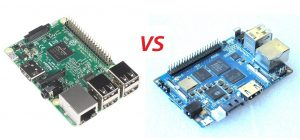 Raspberry Pi 3 model B vs Banana Pi M3 в цифрах